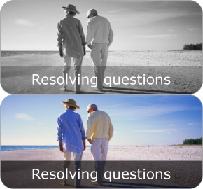 resolving questions